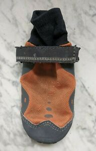 Ruffwear Summit Trex Dog Boot - small 2.0 inches - burnt orange / grey - used