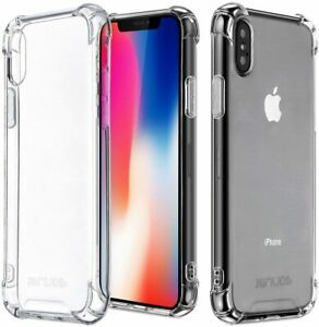 Case for iPhone 11 12 Pro Max Mini 7 8 SE XR X XS Clear Shockproof Phone Cover