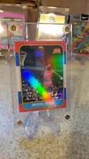 Michael Jordan 86 Fleer RC Reprint Custom Holo Foil With 4 Screw Hard Case Mint
