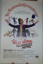 """Willie Wonka And The Chocolate Factory (1971) mini poster (11""""x17"""")"""