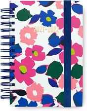 Kate Spade New York Medium Hardcover 2021 2022 Planner 17 Month Floral Pink Blue