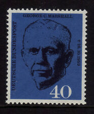 W Germany 1960 Death of General Marshall SG 1258 MNH