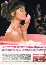 PUBLICITE ADVERTISING 035  1964  CAMAY  savon parfumé