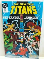 The New Teen Titans #27 DC Comics 1986 VF/NM