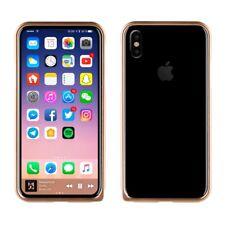 Fundas y carcasas bumper metálico Para iPhone X para teléfonos móviles y PDAs