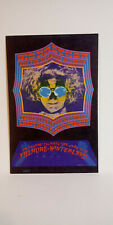 Big Brother and the HoLding CompanY Bg124 BiLl Graham FiLlmore PoStcard