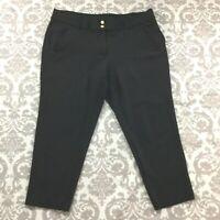 """Anne Klein Womens Pants size 20W w/28"""" Inseam Black Soft Stretch Career Dress"""