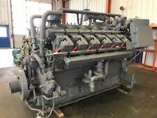 Rebuilt Zero Hour Waukesha VHP  Engine Model 7042GSI S/N C-12759/1 1200 RPM