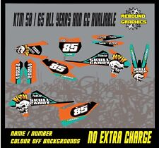 KTM SX 50 65 Graphics Kit-Sticker Kit-Decals-Motocross-MX PUNK