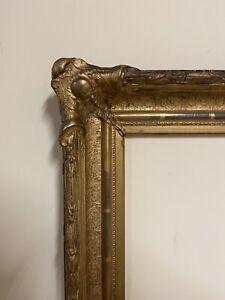 antique picture frame American Rococo