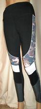 Victorias Secret PINK Ultimate High Waist Black & Camo Colorblock Legging Medium