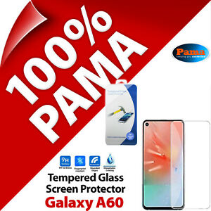 Pama Tempered Glass Screen Protector 9H Guard Film for Samsung Galaxy A60