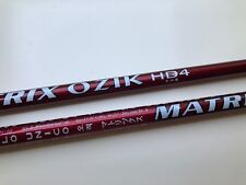 "1 New 46"" uncut MATRIX OZIK HD4 L .335' tip Driver & wood Shaft  MSRP was $450"