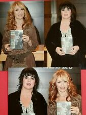 """HEART ANN & NANCY WILSON SIGNED BOOK """"KICKING & DREAMING"""" + PHOTOS AUTOGRAPHED"""