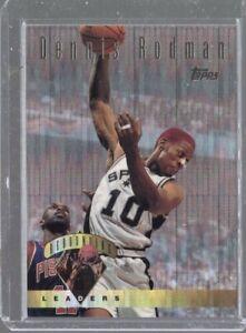 1995-96 Topps Rebounding Leaders Power Boost Dennis Rodman #11