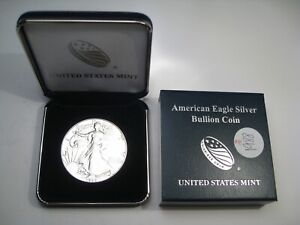 BU 1988 Silver American Eagle US Mint Gift Box.  #10