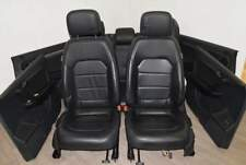 VW Passat 3C B7 10-15 Sitz Sitzgarnitur komplett Leder schwarz Variant + Türverk