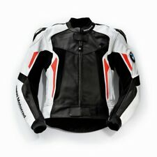 BMW Motorrad Racing Cowhide Leather Motorbike Jacket CE Padded,All Sizes