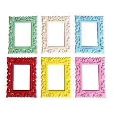 Set of Six Sass & Belle Bright Coloured Mini Magnetic Photo / Picture Frames