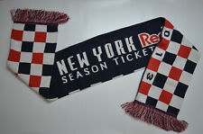 New York Red Bulls Scarf Soccer Futbol MLS 2013 Season Ticket Holder