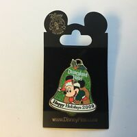 Disney Pin Mickey Mouse Happy Holidays 2009 Disneyland Hotel LE 1000