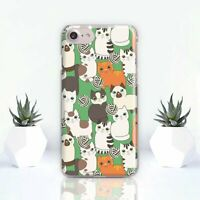 Cats iPhone XR Case Cute iPhone 6 6s XS Cover Animal Pet iPhone 7 8 Plus X XS 11
