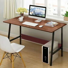 Computer Desk Pc Laptop Table Wood Workstation Writing Study Home Office Furnitu