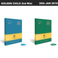 GOLDEN CHILD Miracle 2nd Mini Album 2SET Ver CD+Poster+Booklet+PhotoCard+Etc