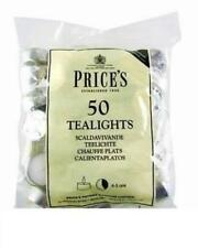 Prices Patent Candles Sentinel 50 Tealights 5 Hour Burn Multipacks
