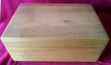 Handcrafted Solid Oak Humidor Cigar, Tobacco Box, NEW....