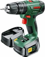 Bosch 06039A337110 PSB 1800 LI-2 Cordless Two-speed Combi Drill with Two 18 V Li