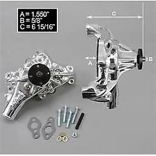 Edelbrock 88114 SBC Victor Series High Perf St. Mech Water Pump EnduraShine