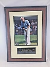 """Jack Nicklaus """"The Golden Bear"""" Limited Edition 5th In Series Nicklaus Moments"""