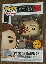 New listing Funko Pop! Movies Patrick Bateman American Psycho 942 Chase Edition With Protec.
