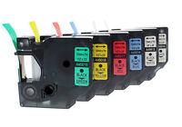 NASTRO COMPATIBILE DYMO D1 CASSETTA LABELMANAGER 6mm 9mm 12mm 19mm 24mm