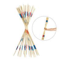 Riesenmikado, Mikado Spiel für draußen, Holzmikado, Gartenmikado, 31 Stäbe 90 cm