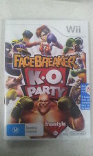 facebreaker k.o. party wii new