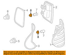 Mercedes MERCEDES-BENZ OEM Taillight Tail Light Lamp Rear-Socket 2108260182