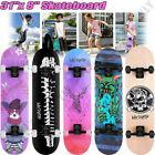 "Graffiti Culture Complete Skateboard 31""x 8"" Double Kick Concave Skateboards S``"