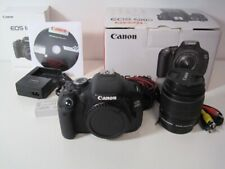 Canon EOS 600D (Rebel T3i) [18MP Full HD] EF-S 18-55mm 1:3,5-5,6 STARK GEBRAUCHT