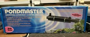PONDMASTER 20W Submersible UV Clarifier/Sterilizer