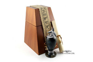 Montegrappa Luxor Blue Nile Anubis Inkwell