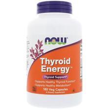 NEW NOW FOODS THYROID ENERGY IODINE FORMULAS HEALTHY METABOLISM DIETARY CAPSULES