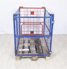 Gitterbox  Gitteraufsatzrahmen f. Europalette Palettenaufsatz Stapelbox Klappbox