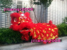 NEW 100% Natural Wool Supreme Chinese Lion Dance Costumes Complete Set 001