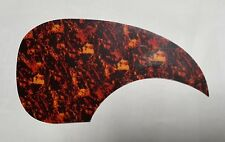 Lefthanded Pickguard Genuine Celluloid Tortoise Shell for Martin Acoustic Guitar