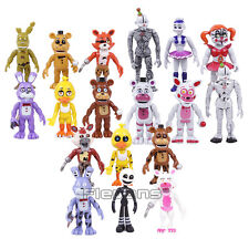 FIVE NIGHTS AT FREDDY´S - SET 18 FIGURAS / FREDDY FAZBEAR & CO / 18 FIGURES SET