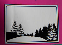 Crafts-Too/CTFD4008/C6/Embossing /Folder/Pine Tree Scene/Christmas