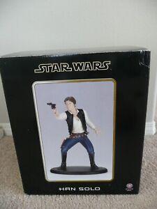 """Attakus Star Wars Han Solo Harrison Ford 1/5 14"""" resin figure statue 2003 Empire"""