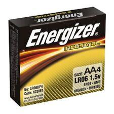 Energizer AA Alkaline Batteries 4Pk EN91 INDUSTRIAL FREE SHIPPING